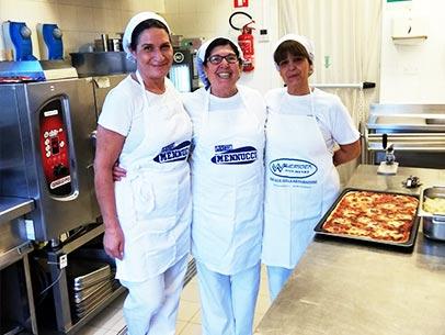 Giornata in Casa di riposo Villa Duchessa Galliera- Cucina interna