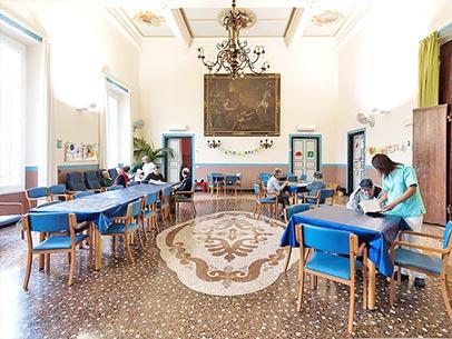 Giornata in Casa di riposo Villa Duchessa Galliera - La colazione