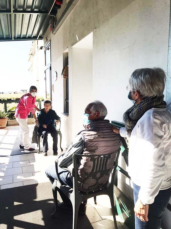 RSA Villa Duchessa Galliera Visite in sicurezza con i parenti